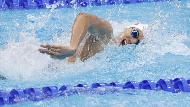 Jocurile Olimpice de la Tokyo. Înotătorul David Popovici s-a calificat în finala probei de 100 metri liber