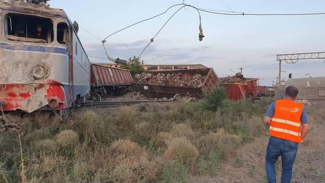 Două trenuri s-au ciocnit la Fetești. Mecanicul era băut. Drulă: Sistemul de frânare automată nu a funcționat - Imaginea 6