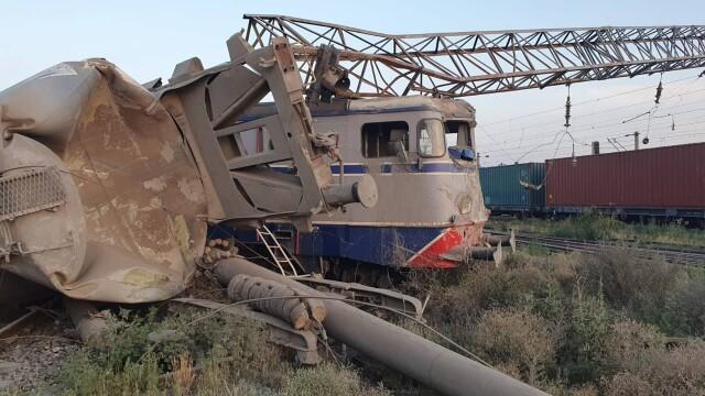 Două trenuri s-au ciocnit la Fetești. Mecanicul era băut. Drulă: Sistemul de frânare automată nu a funcționat - Imaginea 8