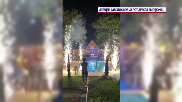 Un tânăr a ajuns la spital, după ce a fost rănit de artificii la o petrecere. Cum s-a întâmplat