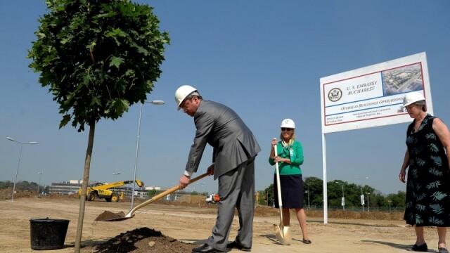 Lansarea constructiilor la noul sediu al Ambasadei SUA