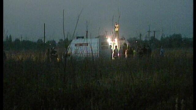 Tragedie la Clinceni! Un pilot a murit dupa ce s-a prabusit cu avionul - Imaginea 1