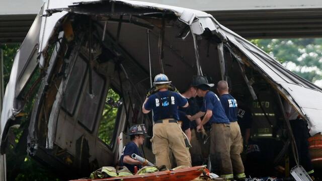 Tragedie in Washington! Cel putin noua morti dupa un accident la metrou - Imaginea 2