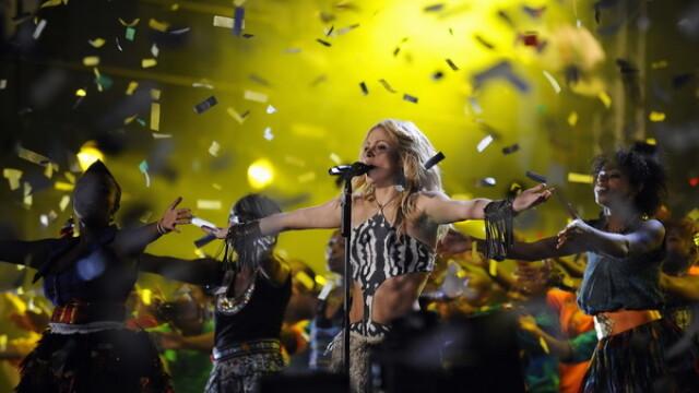 Shakira, la Campionatul Mondiaf de Fotbal