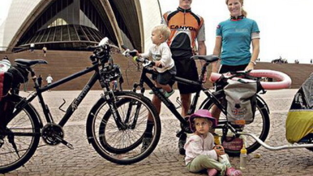 De sapte ani, cinci elvetieni fac turul ecologic al lumii