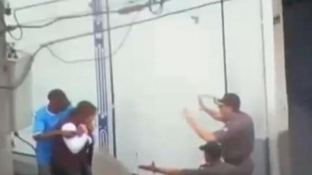 Un lunetist jos palaria! Bandit impuscat in cap, in Brazilia!