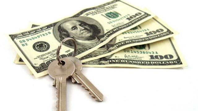 Bani, dolari, investitii, imobiliare, chei