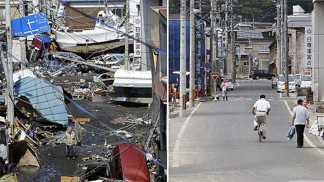 Cum arata tara care a infruntat tsunami, la trei luni dupa catastrofa. FOTO INTERACTIVE