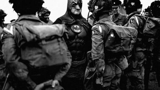 Istoria, rescrisa cu super-eroi si Photoshop. Imaginea saptamanii, oferita de un artist din Jakarta - Imaginea 2