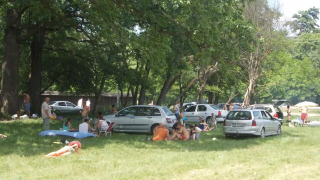 Timisorenii sarbatoresc Rusaliile la iarba verde cu mici si bere. Altii se racoresc la strand - Imaginea 1