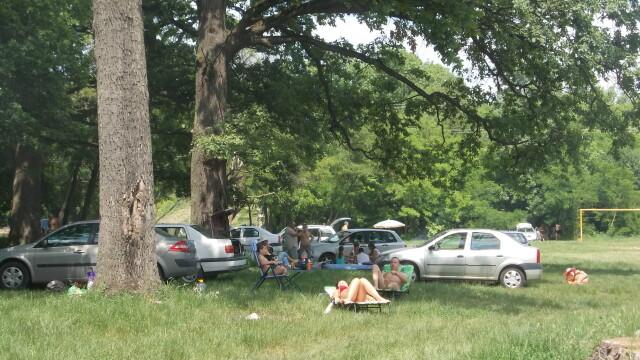 Timisorenii sarbatoresc Rusaliile la iarba verde cu mici si bere. Altii se racoresc la strand - Imaginea 2