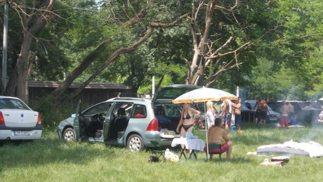 Timisorenii sarbatoresc Rusaliile la iarba verde cu mici si bere. Altii se racoresc la strand - Imaginea 3