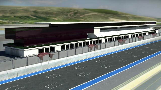 Circuit de Formula 1 la Cluj? Un clujean a atras atentia marilor case de arhitectura sportiva - Imaginea 6