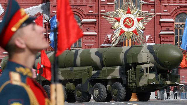 Rusia a testat cu succes o racheta intercontinentala cu raza de actiune de 10.000 de kilometri