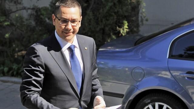 Premierul Victor Ponta pleaca in Africa de Sud, la reuniunea Internationalei Socialiste