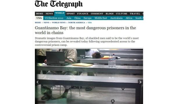 Fotografii in premiera: Cum traiesc cei mai periculosi oameni din lume in Guantanamo Bay