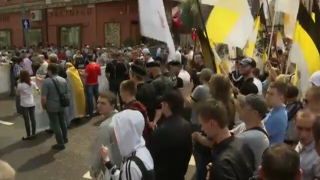 Proteste au avut loc si in tara. Jandarmii au intervenit la Timisoara pentru a linisti spiritele