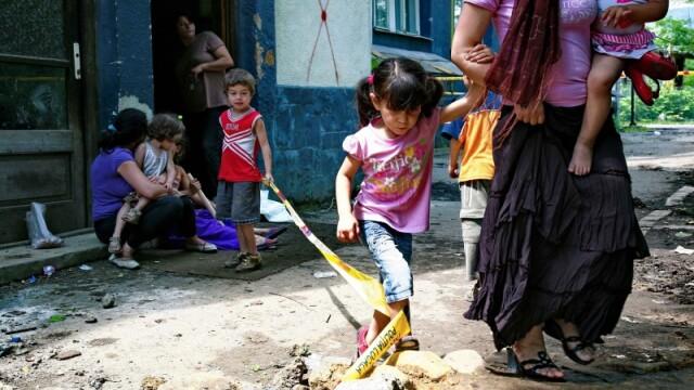 AFP, despre romii din Baia Mare:\