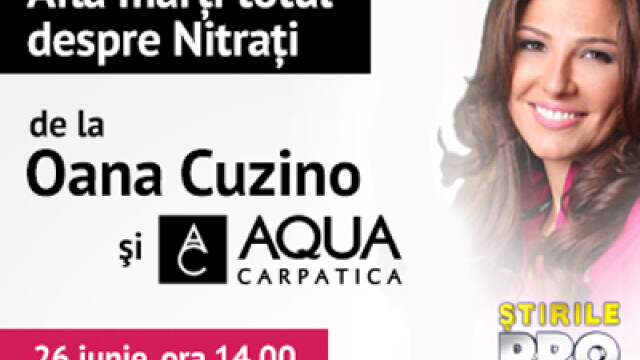 banner, Oana Cuzino, Aqua Carpatica