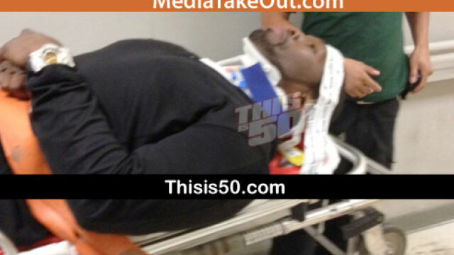 50 Cent, implicat intr-un grav accident de circulatie. A fost transportat de urgenta la spital. FOTO - Imaginea 1