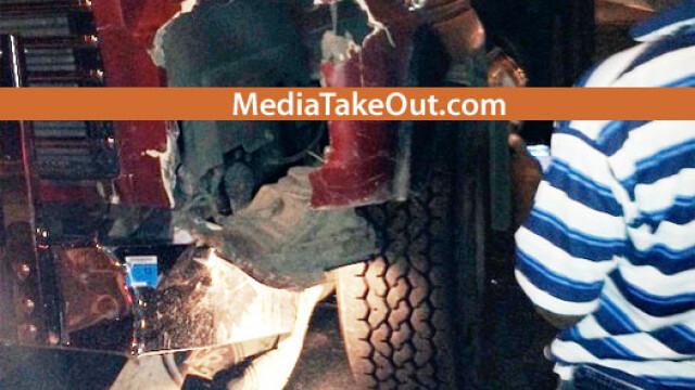 50 Cent, implicat intr-un grav accident de circulatie. A fost transportat de urgenta la spital. FOTO - Imaginea 3