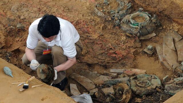 Descoperirea care i-a uimit chiar si pe arheologi. \