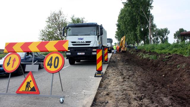 Joi se inchide circulatia pe DN 6, intre Timisoara si Cenad. Afla rutele ocolitoare