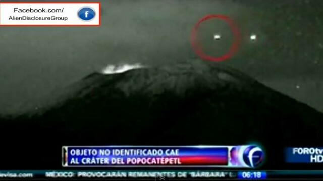 OZN, vulcan, Mexic