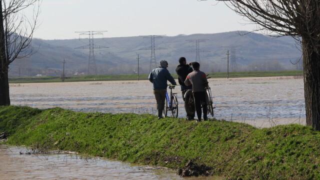 COD PORTOCALIU de inundatii, miercuri, in sase judete. Harta zonelor afectate