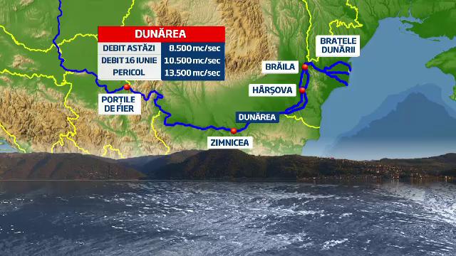 Cum asteapta Romania inundatiile de pe Dunare. Masurile luate de autoritati la Portile de Fier 1