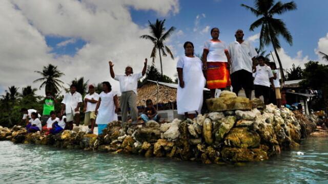 Urmatoarea Atlandida: insula care va fi inghitita de ape in 60 de ani