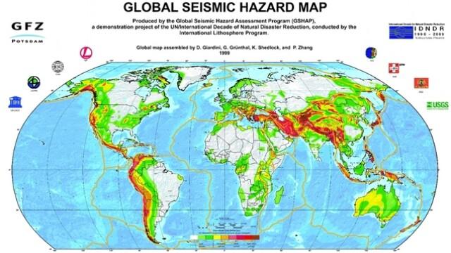 harta cutremure