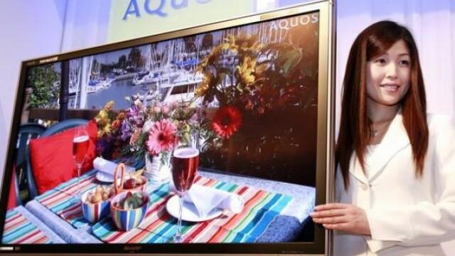 Compania in pragul falimentului care da lovitura cu televizoarele gigant, cu diagonala de 230 cm