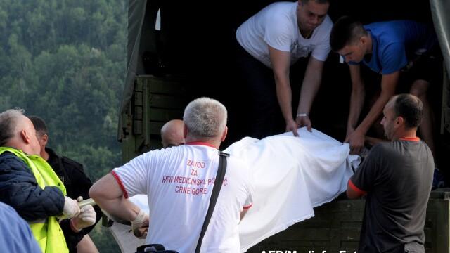 Accident in Muntenegru