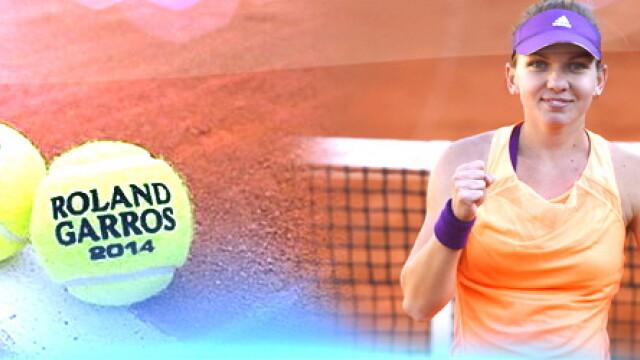 Simona Halep, Roland Garros 2014 - cover