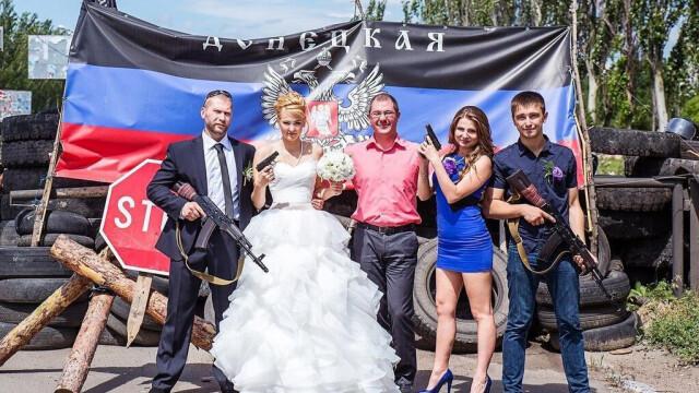 nunta in Ucraina separatista