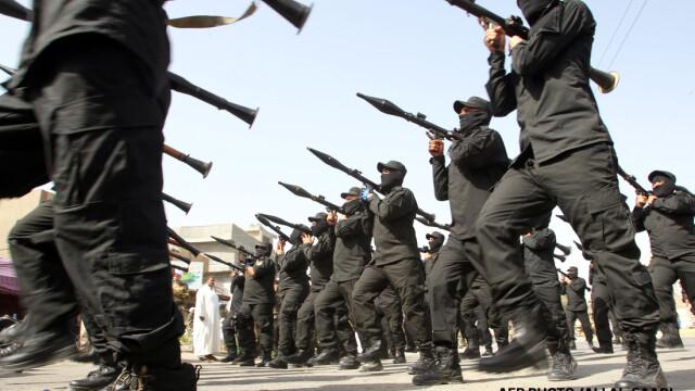 Armata Mahdiului defiland prin Bagdad
