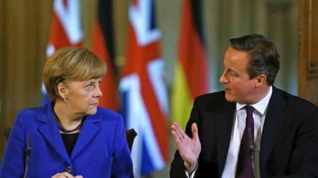 Merkel si Cameron