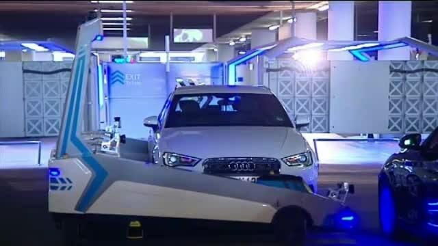 robot aeroport