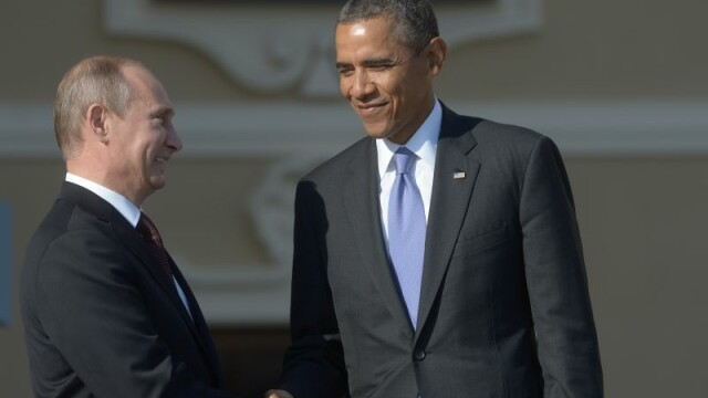 Vladimir Putin i-a telefonat lui Barack Obama. Discutia celor doi, facuta publica de Casa Alba