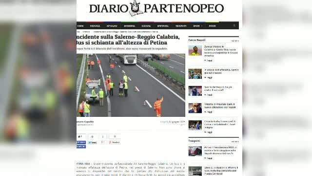 accident Italia