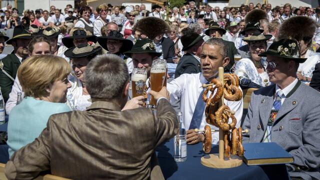 Liderii G7, inflexibili fata de Rusia si uniti contra terorismului.Obama: Putin incearca sa refaca gloria imperiului sovietic - Imaginea 1