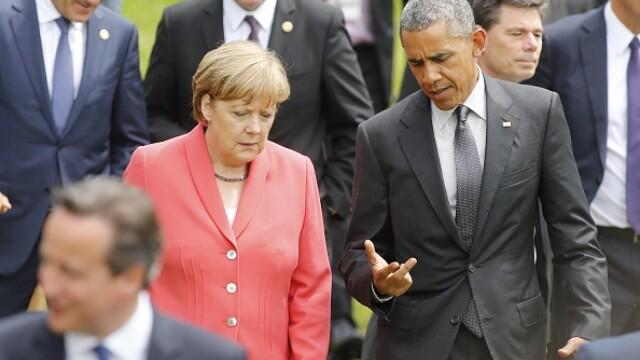 Liderii G7, inflexibili fata de Rusia si uniti contra terorismului.Obama: Putin incearca sa refaca gloria imperiului sovietic - Imaginea 6