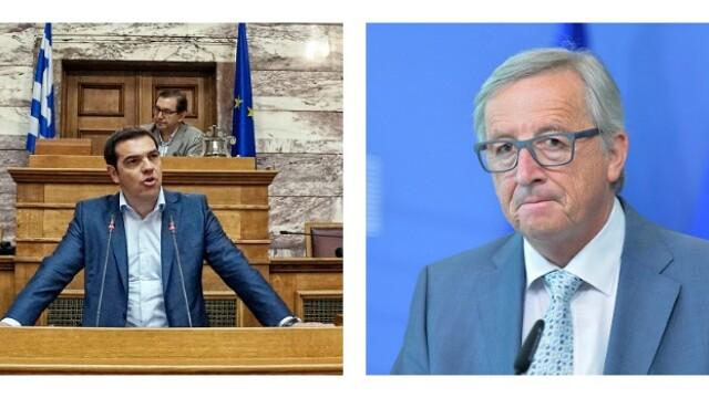 Alexis Tsipras, Jean Claude Juncker - Getty