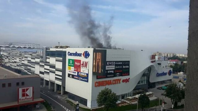 incendiu Mega Mall