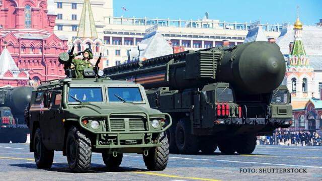 parada militara Rusia rachete nucleare