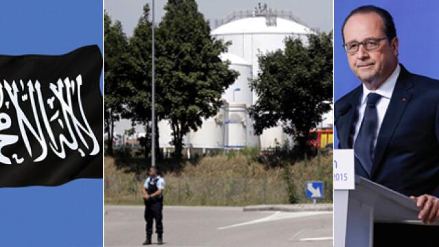 ISIS a incercat sa arunce in aer o uzina langa Lyon si a ucis un om. Nivelul de ALERTA TERORISTA ridicat la MAXIM - Imaginea 6
