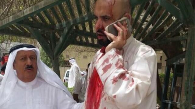 Atentat sinucigas al Statului Islamic, la o moschee din Kuweit, in timpul rugaciunii. 25 oameni au murit si 202 sunt raniti