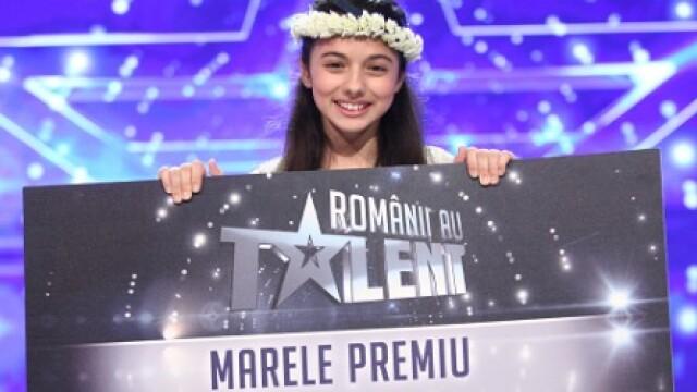 ROMANII AU TALENT. Laura Bretan a castigat sezonul 6 si premiul de 120.000 de euro! VIDEO cu momentul incredibil din finala