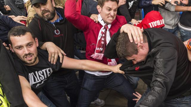 UEFA le ameninta pe Anglia si Rusia: ambele echipe risca sa fie excluse din competitie daca fanii lor mai au derapaje - Imaginea 1